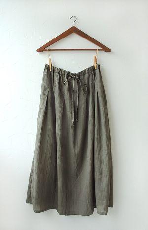 マキシスカート | 生地と型紙のお店 Rick Rack