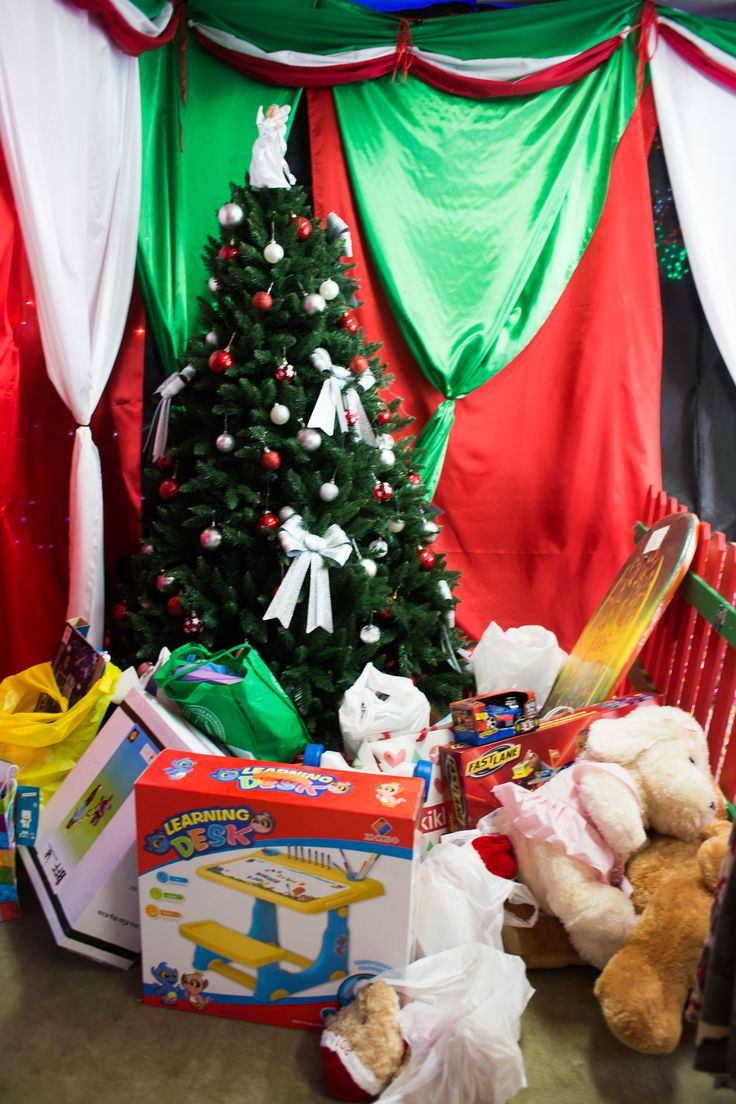 Under that tree there will be present galore, so many you would wonder how there could be anything left in the store. #Christmas