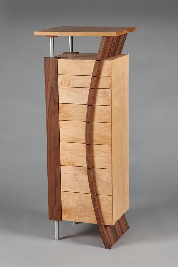Biernbaum Jewelry Armoire MADE TO ORDER by kampstudio on Etsy, $3950.00