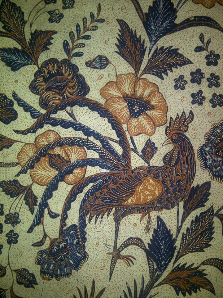 Javanese batik