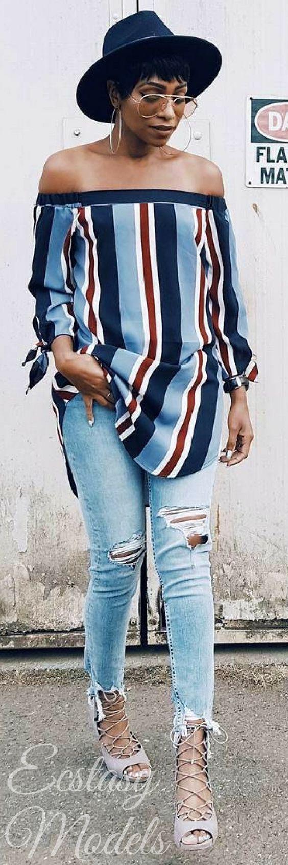 Big or small… take the step! // Fashion Look by KeKe Cameron