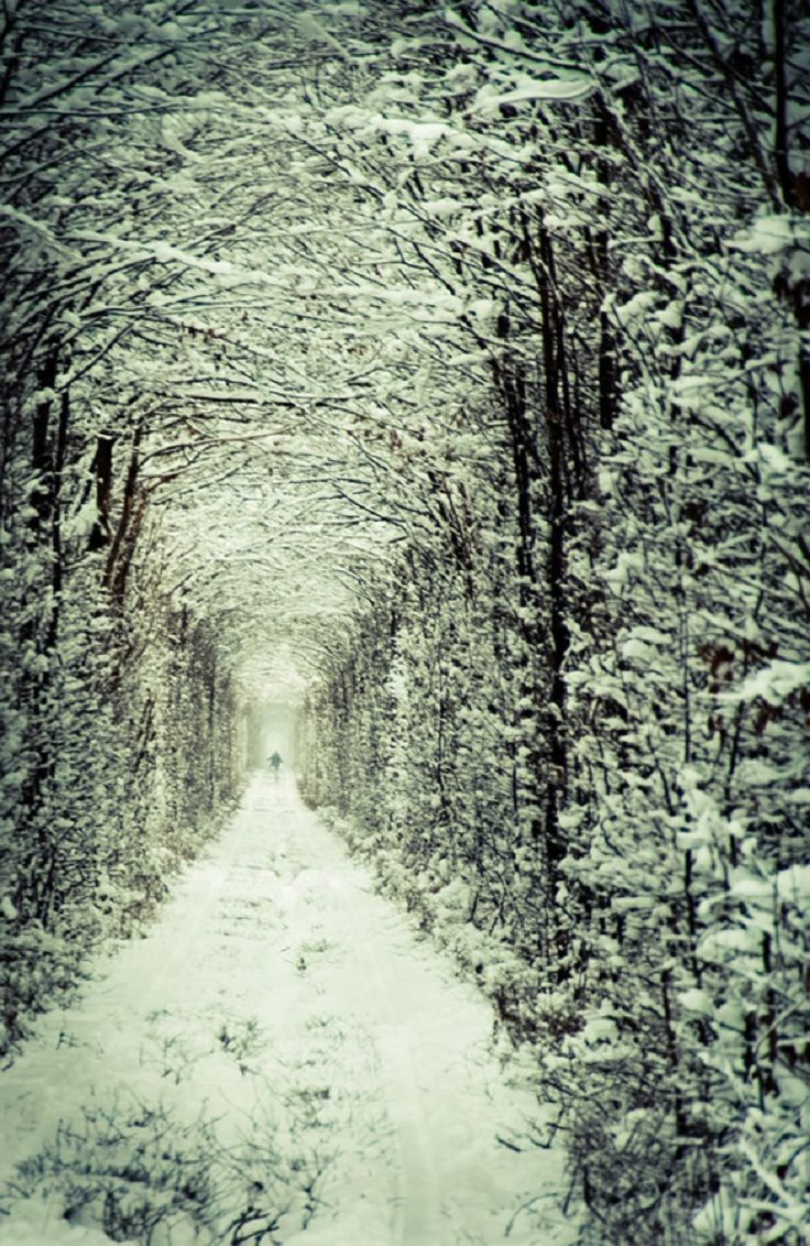 Tunnel of Love, Kleven, Ukraine one of the locations used in Dr. Zhivago 1965 directed by David Lean