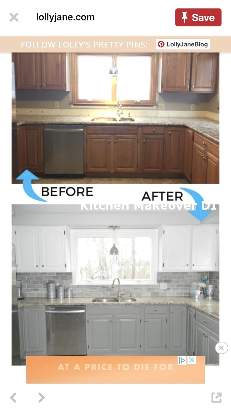 Farmhouse Style Kitchen Makeover For Under 500 In 2020 Budget