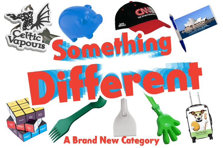 Being Different is a key aspect of advertising. That's why we have created a new category to help find that certain product to help you stand out: http://www.promoparrot.com/something-different.html #promo #different