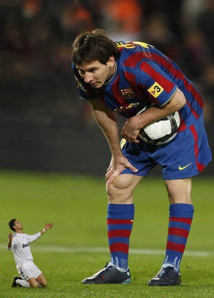 drole Messi-Ronaldo, ça chambre sur Facebook
