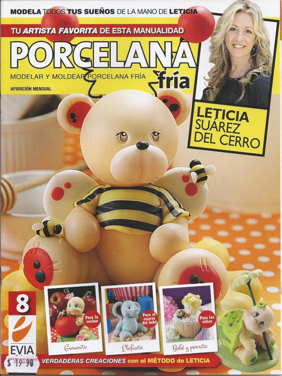 Cold Porcelain Magazine 8 2012 by Leticia Suarez del by AmGiftShoP, $12.99