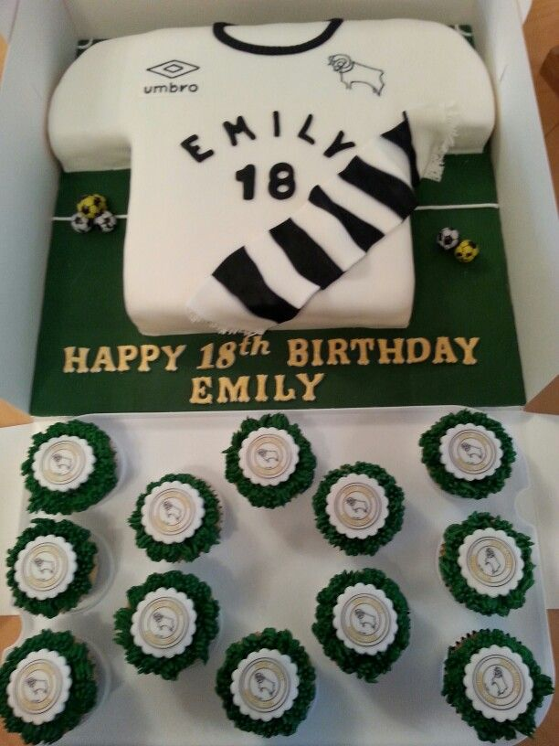 18 best derby county cake images on pinterest derby county cake for derby county fan sciox Choice Image