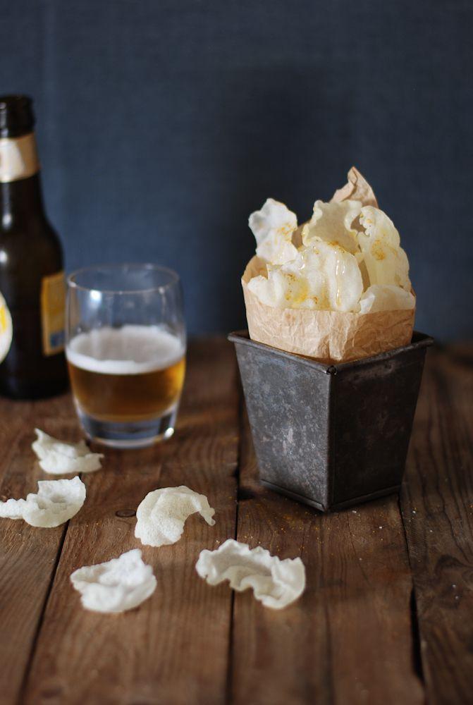 Chips de papel de arroz {sin gluten} - El bistrot de Carmen