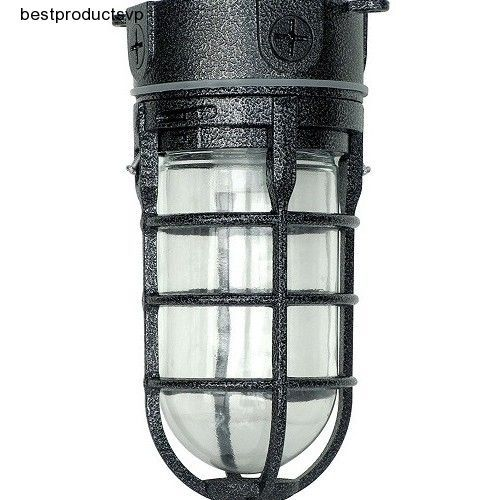 Outdoor Flush Mount Ceiling Light Fixture Antique Industrial Exterior Aluminum  #Woods #Traditional