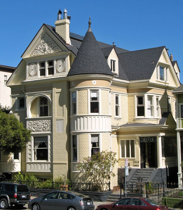 91 best images about romantische h user on pinterest for San francisco victorian houses