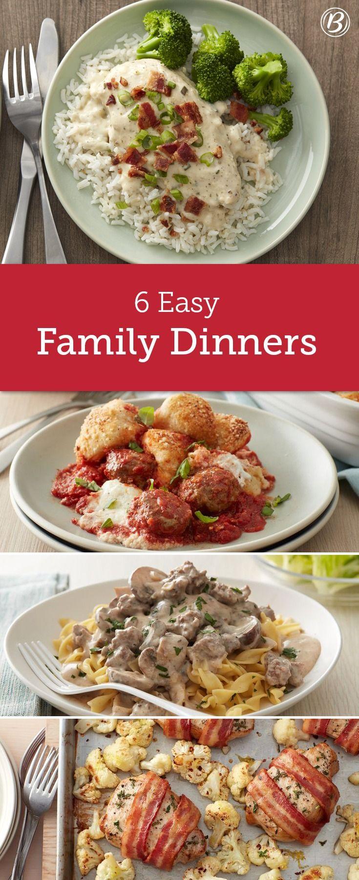 324 best dinner made easy images on pinterest Easy dinner recipes for family of 6