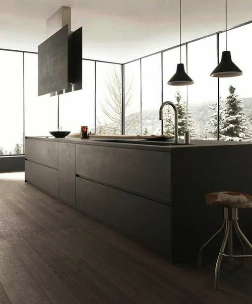 design kitchens blade are the most important collection of modulnova modern kitchen made to celebrate first twenty years of the company - Modern Kitchen Designs 2014