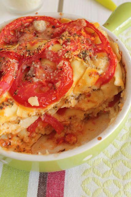 Καλοκαιρινά λαζάνια με ντομάτα και μοτσαρέλα - The one with all the tastes