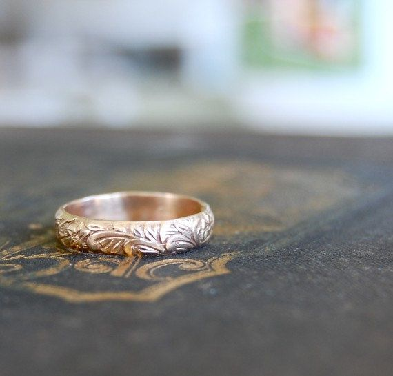 wedding band - but in silver.