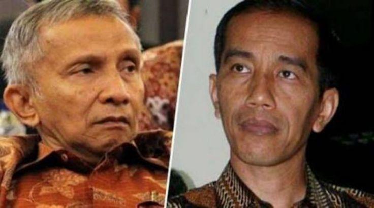 Jokowi: 10 Juta WN Cina Itu Turis, Bukan TKA, Amien Rais: Turis Kok Datang ke Hutan, Bukan Tempat Wisata