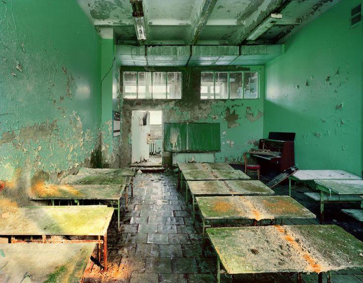 Music Theory Classroom, in School # 5, Pripyat, 2001 Roberto Polidori