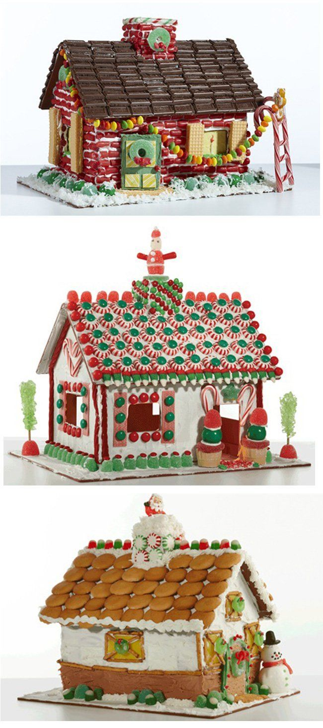 Unique gingerbread house decorating ideas on