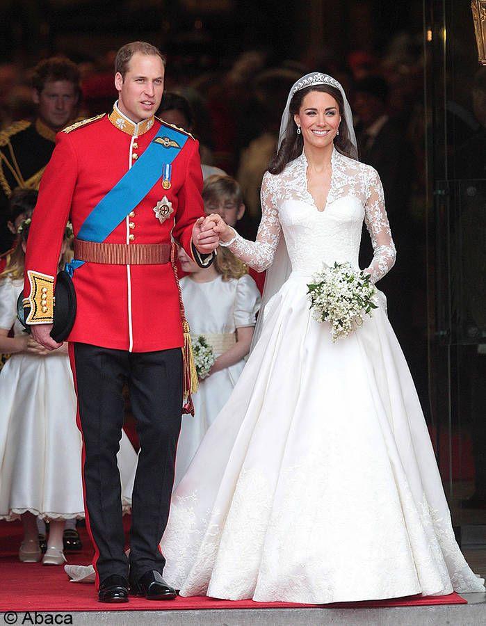 le mariage du prince William et Kate Middleton / Les meilleures photos de mariage de stars
