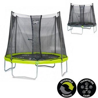 EXIT Twist 6ft Trampoline Green/Grey | 6ft Trampolines From EXIT
