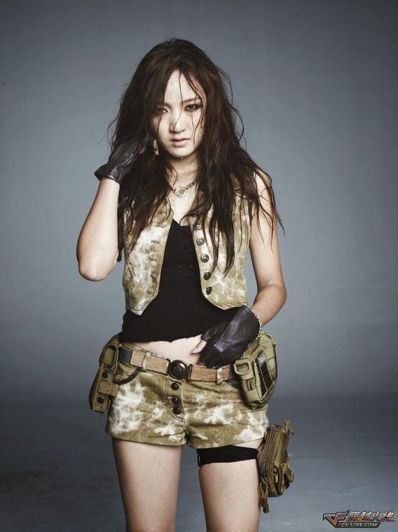 miss A jia  Crossfire Photoshoot: