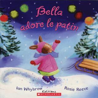 3199700095772 Bella adore le patin. Bella est une petite lapine qui s'inquiète de tout. À petits pas, Bella accepte toutefois de suivre sa famille à la patinoire et, avec courage, s'élance sur la glace, où elle prouve qu'elle est aussi une étoile à sa manière... -- Un hymne tendre à la persévérance et à la confiance en soi. [SDM]