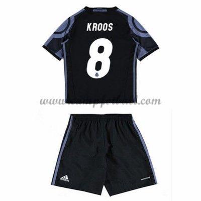 Fotballdrakter Barn Real Madrid 2016-17 Kroos 8 Tredje Draktsett