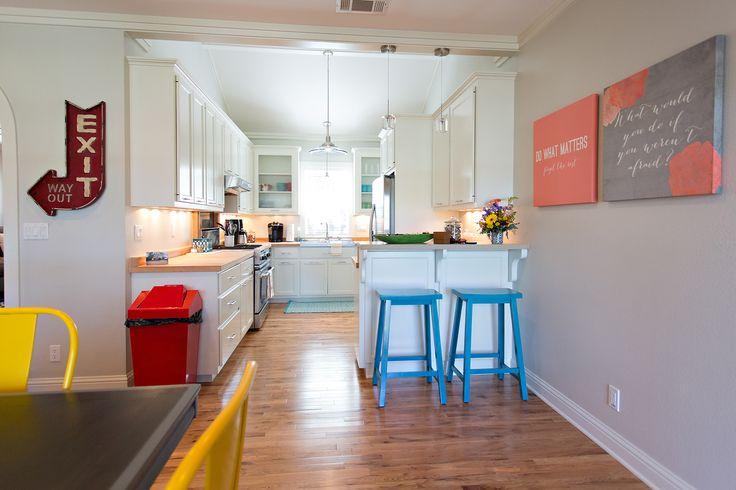 Kitchen at The Coral Door in Fredericksburg Texas