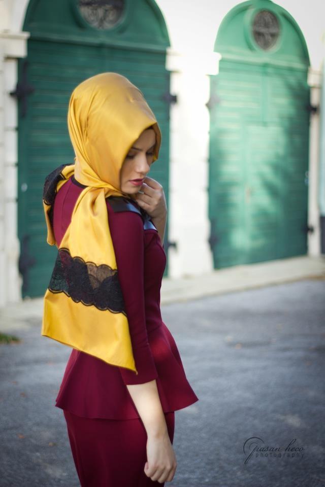 tesettur moda elbise