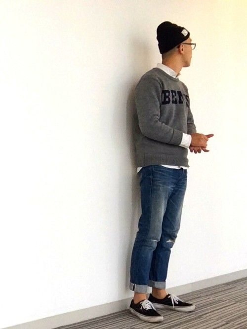 タイスケ|BEN DAVISのニット・セーターを使ったコーディネート - WEAR