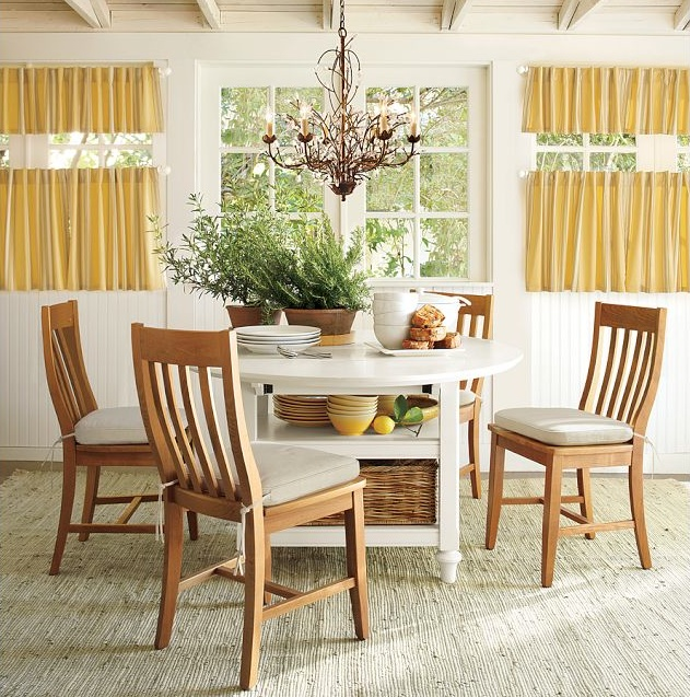 Pottery Barn Dining Nook