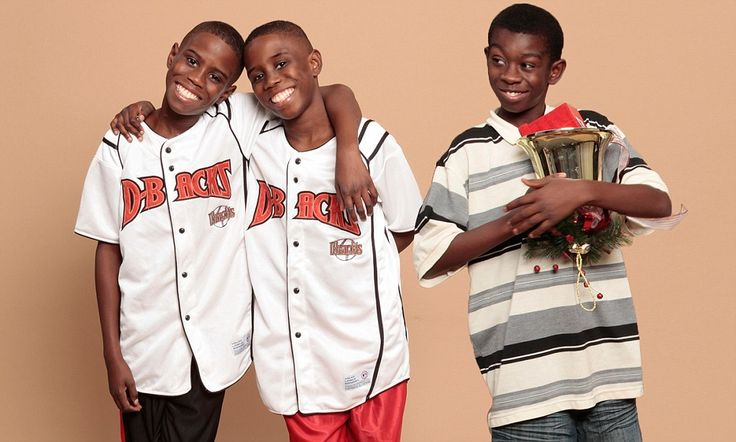 Boy, 15, donates bone marrow TWICE to cure his twin brothers suffering from the painful disease sickle-cell anemia.
