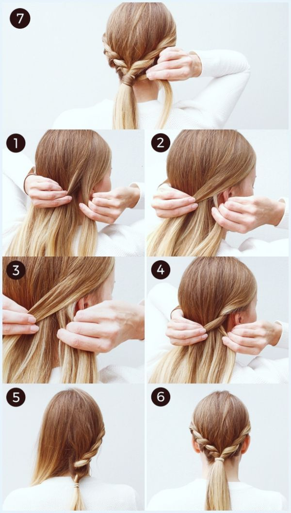 Bohemian Twist Easyhairstyles Easy Hairstyles Hair