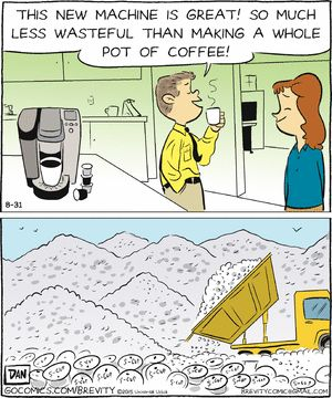 Keurig Coffee Maker Environmental Impact : 17 Best images about Coffee Cartoons on Pinterest Pumpkin spice latte, Coffee table books and ...