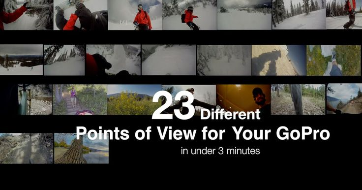 23 different points of view to shoot with your GoPro Camera with examples shown in a quick video under 3 minutes. YouTube video by Chris Gardiner Photography