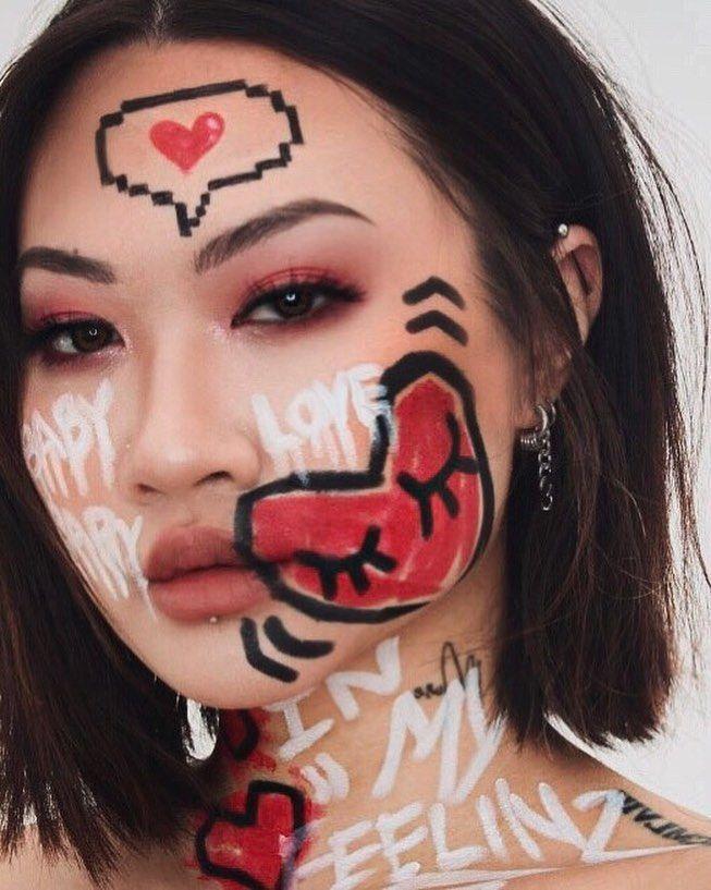"× 𝖒𝖆𝖐𝖊𝖚𝖕 𝖋𝖎𝖊𝖓𝖉 × on Instagram: ""𝖔𝖒𝖌, 𝖊𝖒𝖔𝖙𝖎𝖔𝖓𝖘.  FACE// #makeupforever HD foundation stick Y315  Makeup forever ultra HD concealer 20  @katvondbeauty shade and light…"""