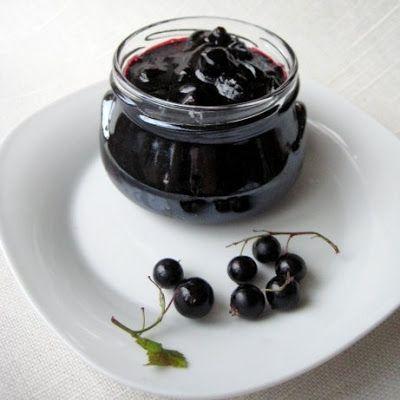 Black Currant Jam in Five Minutes