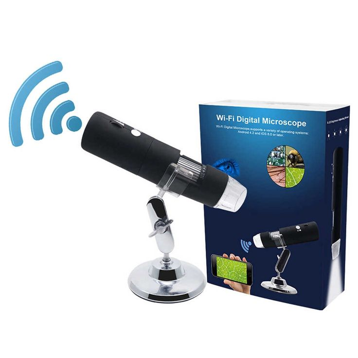 1080P WIFI Digital 1000x Microscope Magnifier Camera for