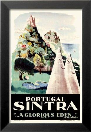 Portugal- Sintra Impressão de alta qualidade na AllPosters.pt