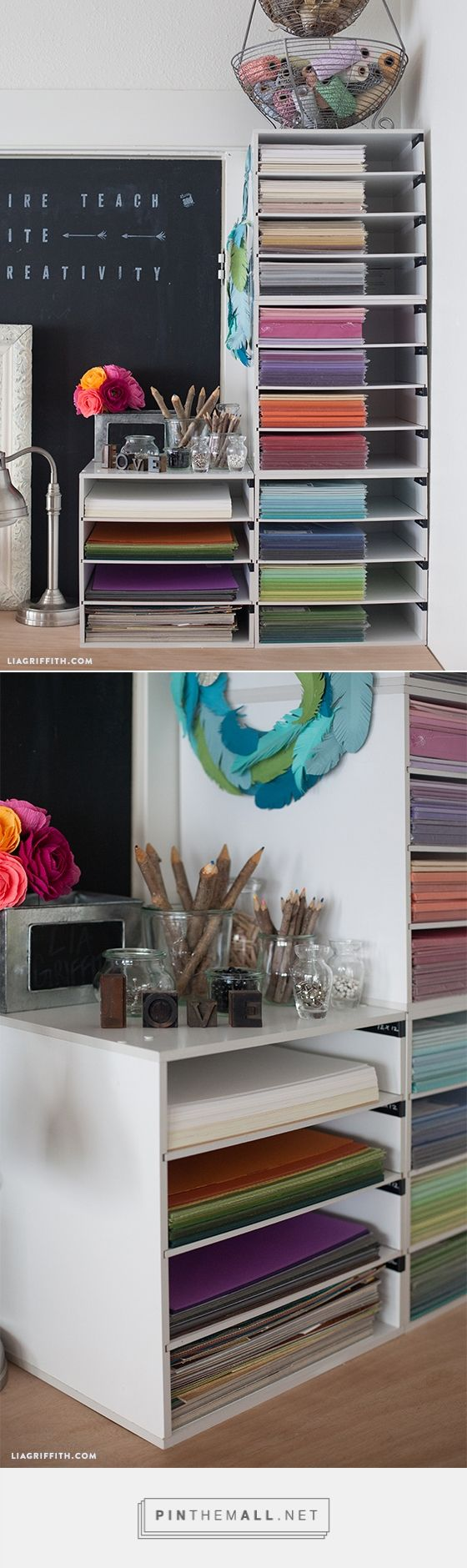 Scrapbook paper organization ideas - Organizing My Crafting Paper More Ideas And Inspiration At Www Liagriffith Com