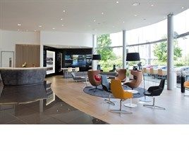 Lexus new showroom style at Inchcape's Guildford Lexus dealership