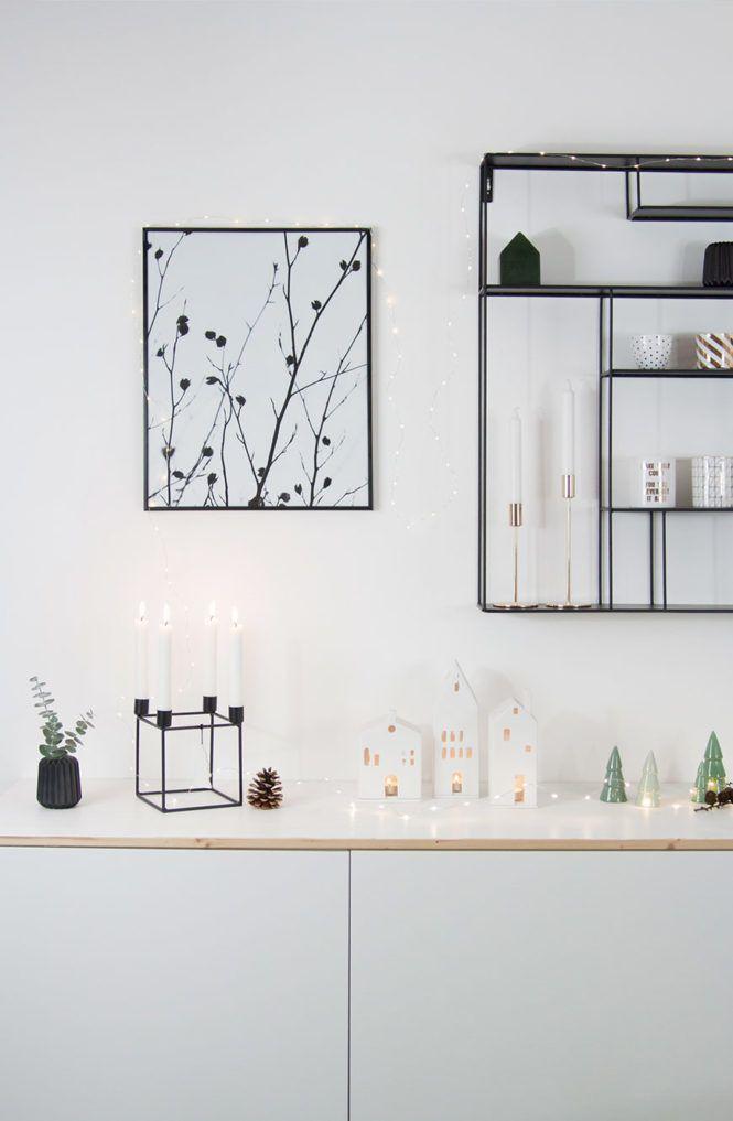 Dekoration Wohnung Weihnachten Skandinavische Einrichtung Interior