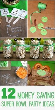 We Heart Parties: Blog 12 Money Saving Super Bowl Party Ideas