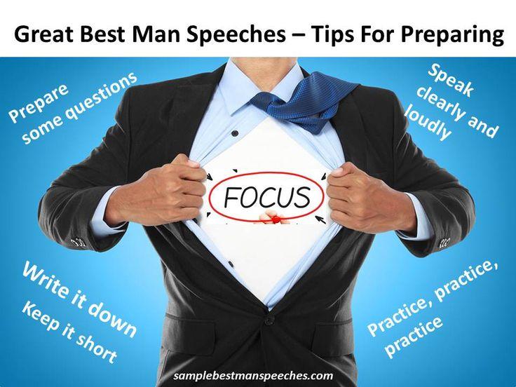 Best Man Speech Speeches Wedding Groomsmen
