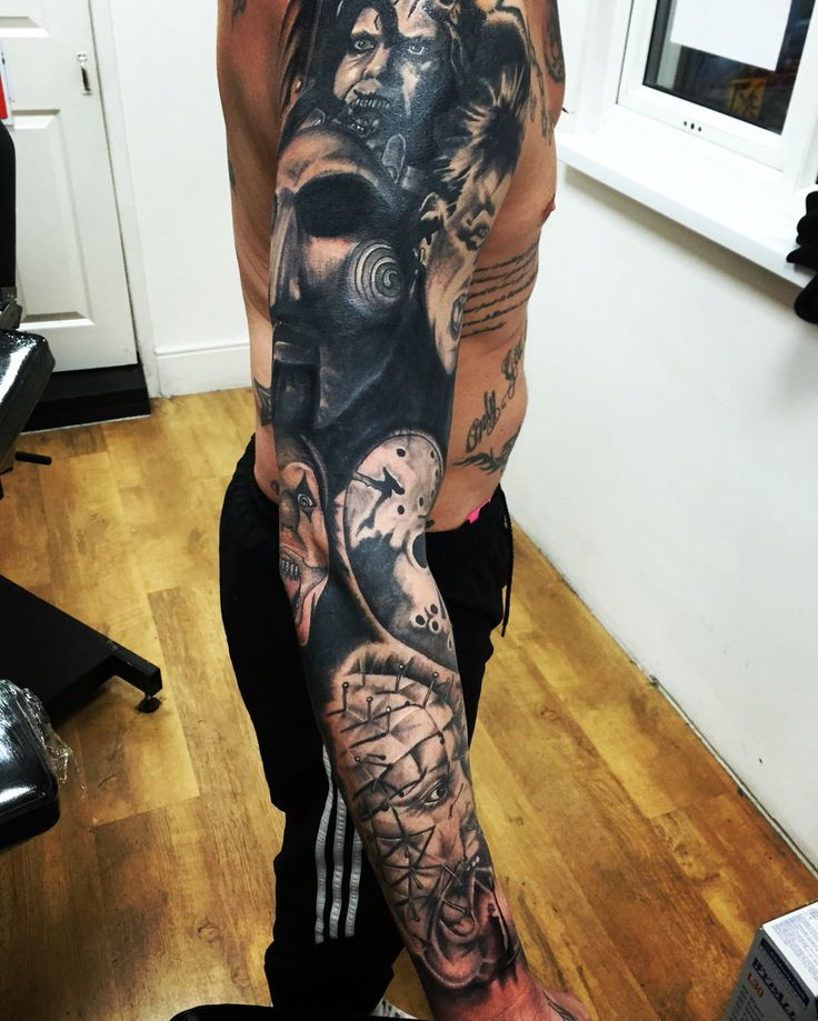 Horror Movie Tattoos Tattoos: 618 Best Images About Tattoo Sleeve On Pinterest