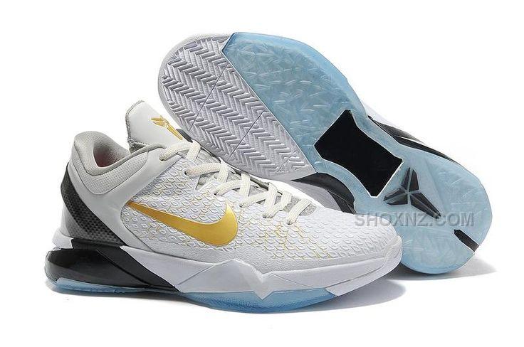 finest selection 02b22 0ceb3 ... sale nike zoom kobe nba shoes elite home white metallic gold discount  65ac8 6b1df