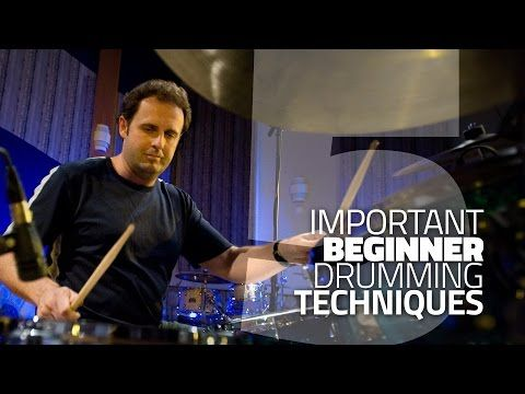 5 Beginner Drumming Techniques You Need To Know - Drum Lesson - YouTube