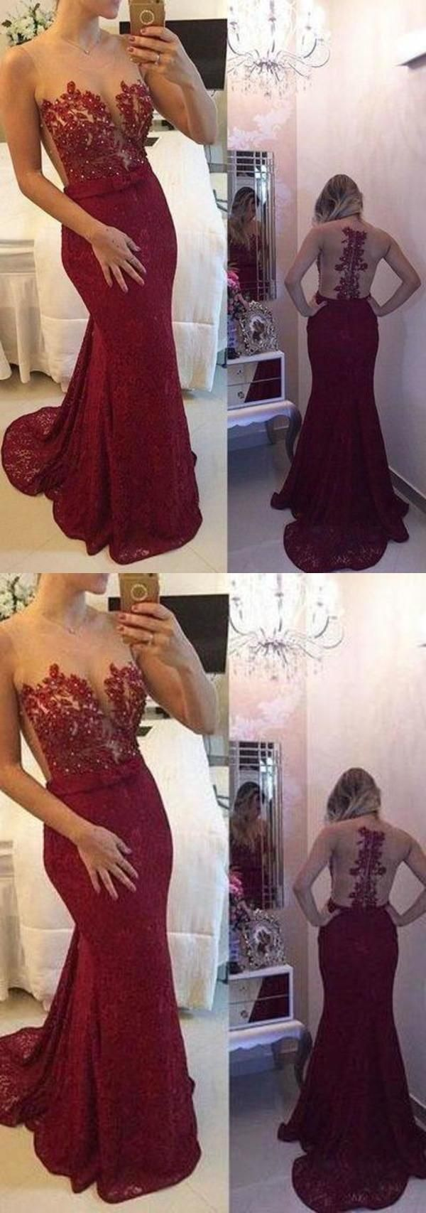 New Arrival Lace Prom Dresses Mermaid Prom Dresses Wine Red Prom Dresses Mermaid Prom Dresses Red Prom Dress Mermaid Dresses [ 1706 x 600 Pixel ]
