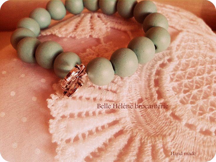mooi armband in pastel keur groen