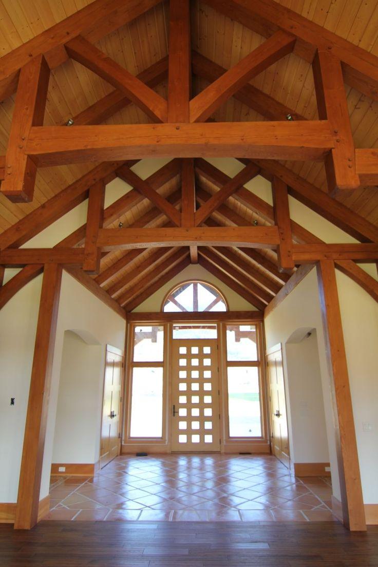 Timber Frame Ceiling Fan : Best timber frame beamed ceilings images on pinterest