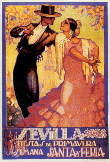 Fiestas de Primavera 1928 ~ Sevilla ~ Seville _____________________________ Espagne ~ España ~ Spain
